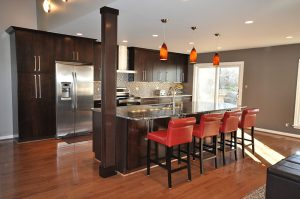 one-wall small kitchen design